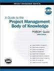 二手書博民逛書店《A Guide to the Project Management Body of Knowledge: 2000 Edition》 R2Y ISBN:1880410230