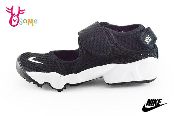 NIKE RIFT 童涼鞋 忍者鞋 護趾 運動涼鞋 中大童 O7118#黑色◆OSOME奧森童鞋_pic