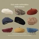 畫家帽 造型帽 2021年新款貝雷帽女秋冬百搭英倫復古網紅日系畫家帽子