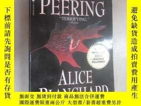 二手書博民逛書店外文書罕見DARKNESS PEERING ALICE BLANCHARD(共316頁,32開)Y15969
