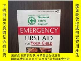 二手書博民逛書店Emergency罕見First Aid for Your ChildY12800 Consumer Guid
