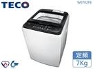 ↙0利率/免運費↙TECO東元 7Kg 省水節能 FUZZY智慧 定頻窄身洗衣機 W0702FB【南霸天電器百貨】