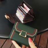 錢夾真皮卡包女式多卡位錢夾小巧簡約超薄大容量2020新款小CK卡片包嘲 JUST M