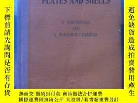 二手書博民逛書店英文原版書罕見Theory of Plates and Shel