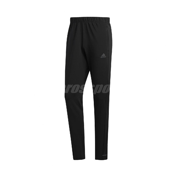 adidas 長褲 Own the Run Astro Pants 黑 白 男款 運動褲 專業 運動休閒 【ACS】 FL6962