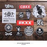 CROXXBONES 街頭貼紙B