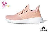 adidas運動鞋 女鞋LITE RACER REBORN透氣慢跑鞋 休閒運動鞋 Q9397#粉橘◆OSOME奧森鞋業