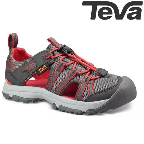 TEVA Kids青少兒童護趾多功能水陸運動鞋MANATEE - 炭灰(大童)