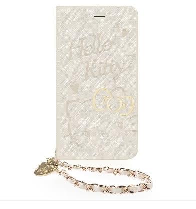 King*Shop~GARMMA Hello Kitty iPhone 7/6S/6 Plus 5.5吋側掀式摺疊皮套