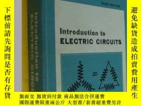 二手書博民逛書店Introduction罕見to Electric Circui