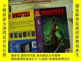 二手書博民逛書店tou罕見can draw monsters 你會畫怪物Y180897