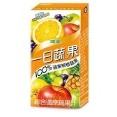 M-波蜜100%蘋果柳橙蔬果汁160ml*6【愛買】