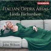 【停看聽音響唱片】【CD】義大利歌劇詠嘆調 琳達.理查森 女高音 威爾森 指揮 倫敦市立交響樂團
