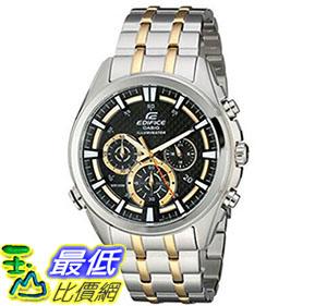 [美國直購] 手錶 Casio Mens EFR-537SG-1AVCF Neon Illuminator Two-Tone Stainless Steel Watch