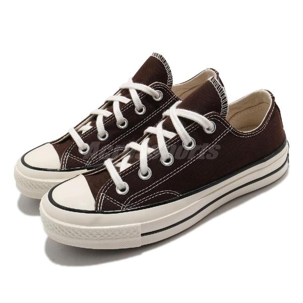 Converse 帆布鞋 Chuck 70 棕 咖啡 男鞋 女鞋 復古 奶油底 基本款 【ACS】 170554C