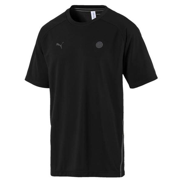 Puma BMW 男 黑 上衣 短袖 運動短T 短袖 短T 高爾夫 排汗 透氣 運動上衣 57779601