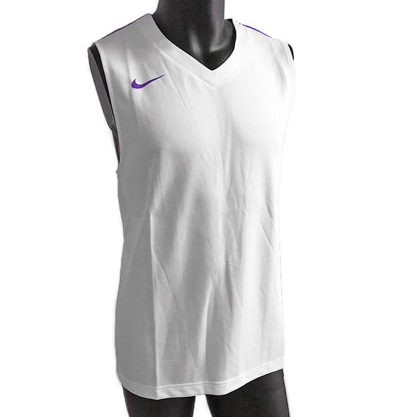 Nike AS Team League Tank [614447-180] 男 籃球 背心 排汗 透氣 單面 白紫
