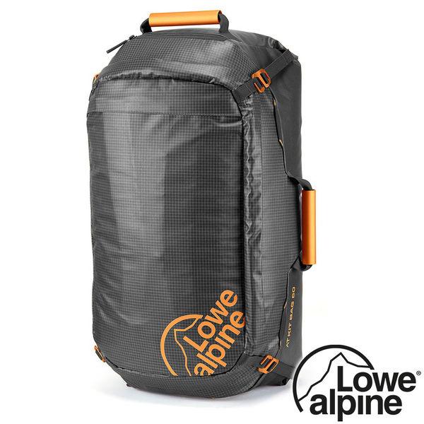 【英國 LOWE ALPINE】AT Kit Bag 旅行背包 60L『煤碳黑』FTR-34 多隔間.旅遊.露營.戶外.自助旅行.後背包