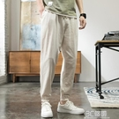 中國風亞麻男褲子春夏季薄款寬鬆唐裝哈倫束腳褲燈籠棉麻休閒長褲 3C優購