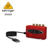 BEHRINGER UCA222 錄音介面 (具有數位輸出2進2出USB /音頻接口)