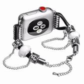 蘋果 Apple Watch 錶帶 串珠手環錶帶 蘋果錶帶 applewatch錶帶