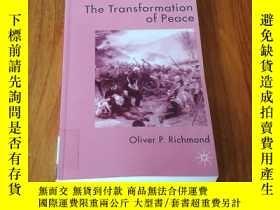 二手書博民逛書店THE罕見TRANSFORMATION OF PEACE 和平轉