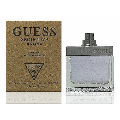 Guess Seductive 魅惑男性淡香水 50ml Test 包裝