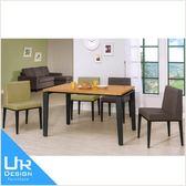 北歐工業風馬丁4.3尺全實木面餐桌(18I20/A441-01)