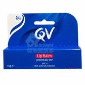 Ego意高 QV 防曬潤唇膏 SPF30 15g/支◆德瑞健康家◆