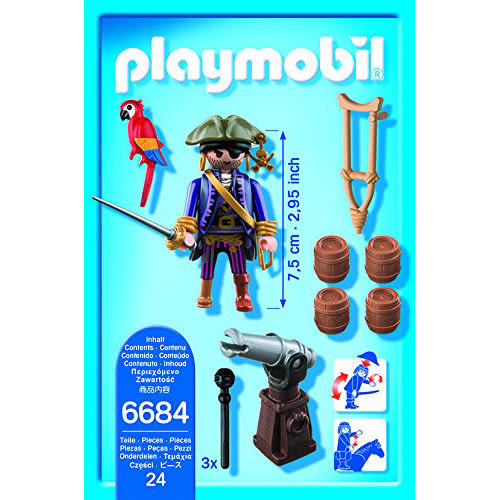playmobil 海盜船長_PM06684