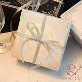 禮物盒韓版簡約生日口紅裝禮品盒空盒包裝盒【櫻田川島】