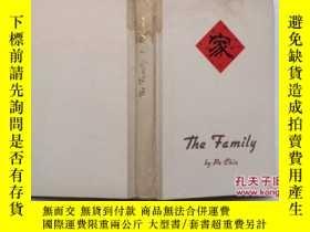 二手書博民逛書店英文版罕見家 THE FAMILY BY Pa Chin 巴金