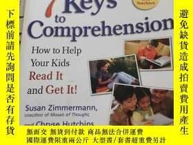 二手書博民逛書店7罕見Keys to Comprehension: How to Help Your Kids Read It a