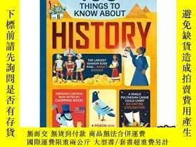 二手書博民逛書店100歷史大發現罕見100 things to know about History-Y465786 Fede