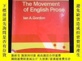 二手書博民逛書店The罕見Movement of English ProseY16149
