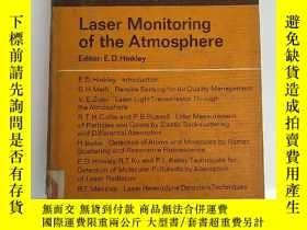 二手書博民逛書店laser罕見monitoring of the atmosph