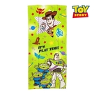 【SAS】日本限定 迪士尼 玩具總動員 胡迪 叉奇 三眼怪 巴斯光年 長版毛巾 34×75cm