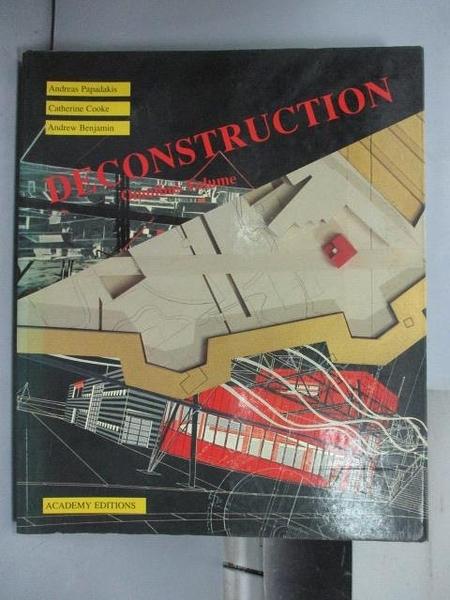 【書寶二手書T5/設計_QHL】DECONSTRUCTION