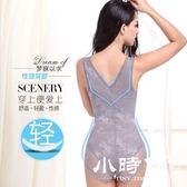 塑身馬甲 腰夾/束腰 蕾絲性感無痕收腹服連體產后束縛內衣薄