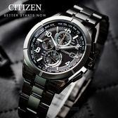 【送!!電影票】CITIZEN 星辰 限量 暗黑騎士鈦金屬光動能電波腕錶 AT8166-59E 熱賣中!