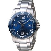 LONGINES浪琴征服者系列陶瓷潛水機械錶 L37814966  41mm