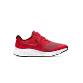 Nike Star Runner 2 (PSV) 中童鞋 紅 輕量 透氣 避震 魔鬼氈 慢跑鞋 AT1801-600