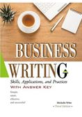 Business Writing :Skills ,Applications ,