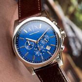 A/X Armani Exchange 亞曼尼 AX2501 微光撞色復古腕錶 熱賣中!