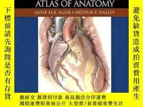 二手書博民逛書店Grant s罕見Atlas Of Anatomy (grant, John Charles Boileau  g
