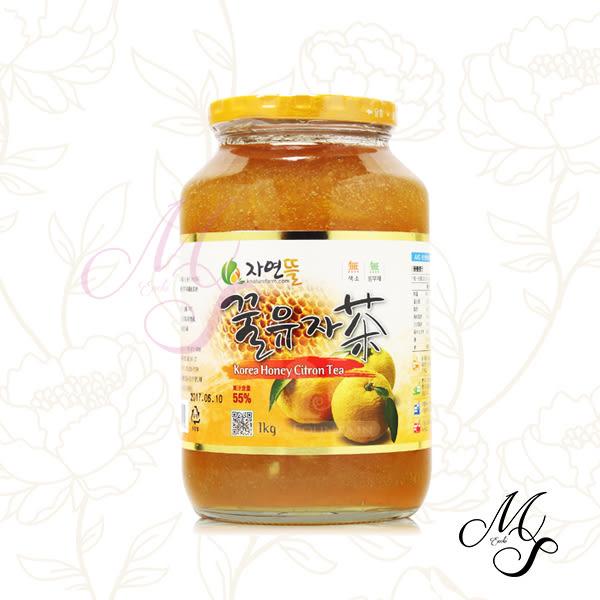 【Miss Sugar】限宅配韓國進口 黃金蜂蜜柚子茶 1kg