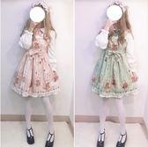 洛麗塔連身裙洋裝lolita日系【奇趣小屋】