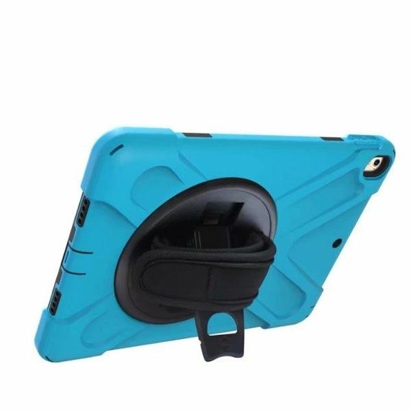 蘋果 iPad Air3 10.5 iPad 10.2 平板保護套 平板皮套 海盜王 附背帶 附手帶 保護套 防水 防摔 支架