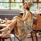 傾凡吊帶睡裙女夏季純棉薄款性感帶胸墊夏天睡衣孕婦大碼連身裙子