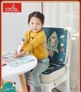 寶寶座椅卡通加高坐墊兒童餐椅增高坐墊小學生椅子透氣座墊加厚硬